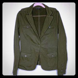 Lucky brand jacket size S green blazer